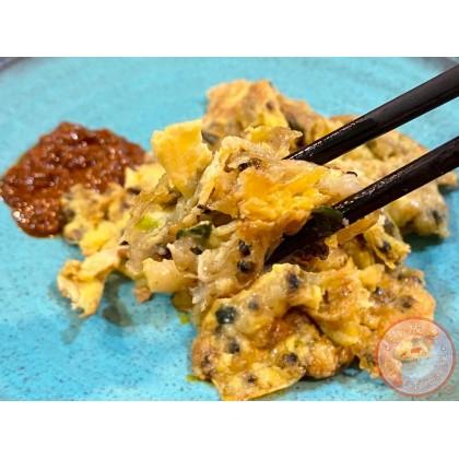 Homemade Clams Omelette | 适耕庄著名啦啦煎