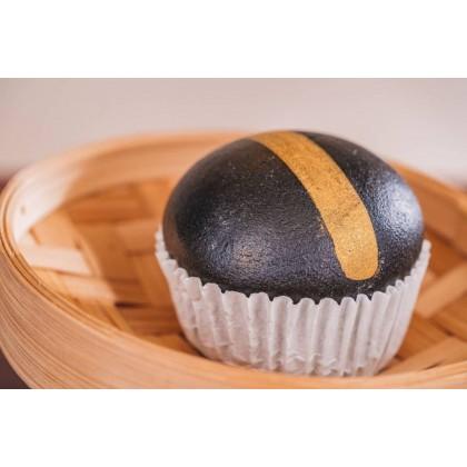 Charcoal Salted Egg Custard Bun | 黑金流沙包 【6 pcs/pck】